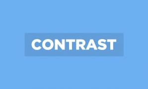 خمس حالات لتباين (contrast) أفضل بين الصورة والنص