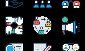 أيقونات مفتوحة المصدر لـ Business & office
