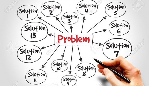 41206582-Problem-solving-aid-mind-map-business-concept-Stock-Photo