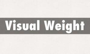 6 طرق لزيادة الوزن البصري للعناصر – Visual Weight