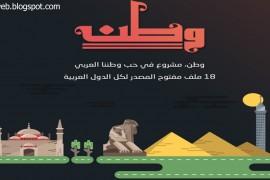 """مشروع """"وطن"""" مفتوح المصدر للمصممين والمبرمجين"""